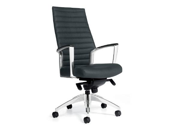 Upholstered High Back Knee-Tilter